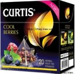 Чай Curtis Cool Berries 20 Herbal Fruit Tea Pyramids - фруктово-травяной чай Кертис Кул Беррис в пирамидках 20*1,7 г