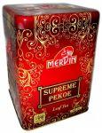 """Чай Mervin """"Supreme PEKOE"""" 500g - чёрный среднелистовой цейлонский чай без добавок Мервин """"Суприм ПЕКО"""" 500 гр, ж/б"""