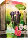 Чай Susan-Tea Green Sour Sop 100g - зеленый листовой цейлонский чай c добавками Сусан Зелёный Саусеп 100 г картон