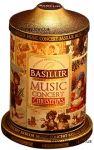 Чай Базилур Музыкальная Шкатулка Рождество 100 г ж/б - чёрный листовой чай с добавками Basilur Music Concert Christmas 100g