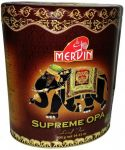 "Чай Mervin ""Supreme OPA"" 400g - чёрный крупнолистовой цейлонский чай без добавок Мервин ""Суприм ОПА"" 400 гр, ж/б"
