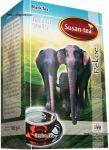 Чай Susan-Tea Pekoe 100g - чёрный цейлонский среднелистовой чай без добавок Сусан ПЕКО 100 г картон