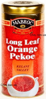 Чай Mabroc Long Leaf Orange Pekoe Kelani Valley 150g - черный чай Маброк Долина Келани OP 150 г ж/б
