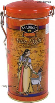 Чай Mabroc Yala Night 200g - черный чай Маброк Яла Ночь 200 г ж/б