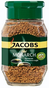 Кофе Jacobs - Monarch - 190 г - кофе растворимый, сублимированный