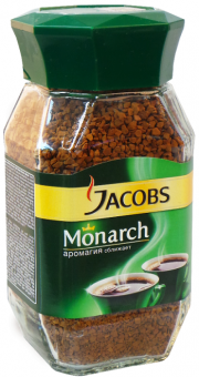 Кофе Jacobs - Monarch - 95 г - кофе растворимый, сублимированный