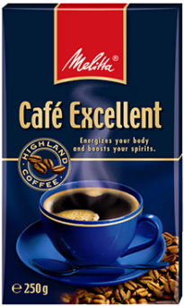 Кофе Melitta Cafe Excellent 250g - кофе Мелитта Екселлент 250 г молотый