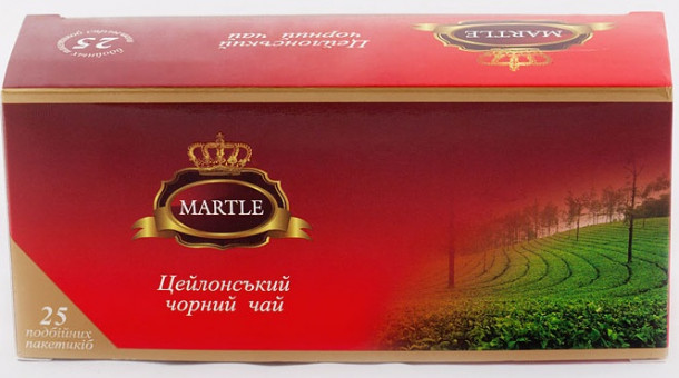 "Чай ""Martle"" - ""Ceylon Black Tea"" - 25*2 гр."
