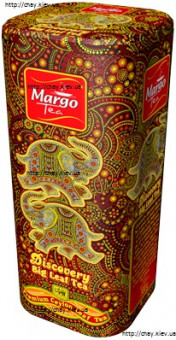 Чай Margo DISCOVERY BIG LEAF TEA 300g - крупнолистовой чёрный цейлонский чай без добавок МАРГО ОПА 300 г железная банка